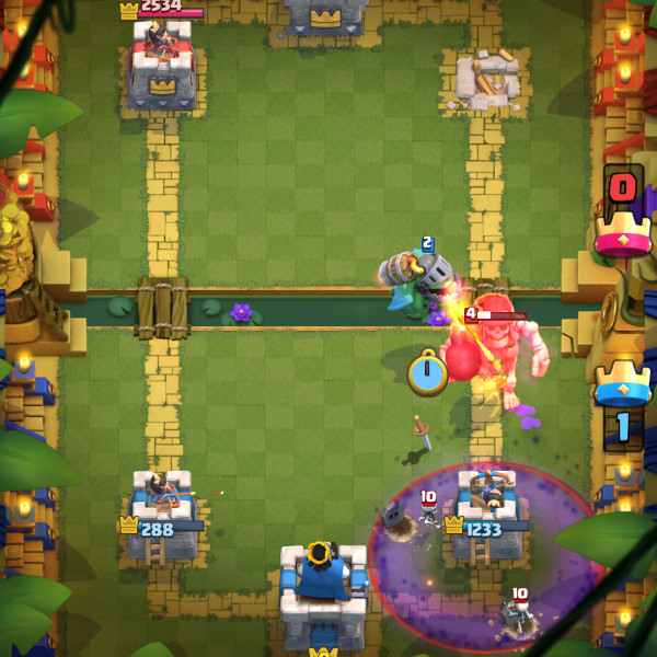 All-Strong-Deck–Giant-Skeleton-Graveyard-Among-Strong-Troops-clash-royale-kingdom