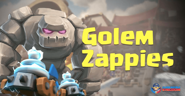 Golem Zappies Deck and Strategies