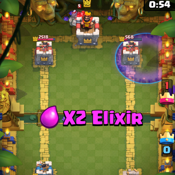 Night-Witch-Graveyard-on-Double-sided-counter-clash-royale-kingdom