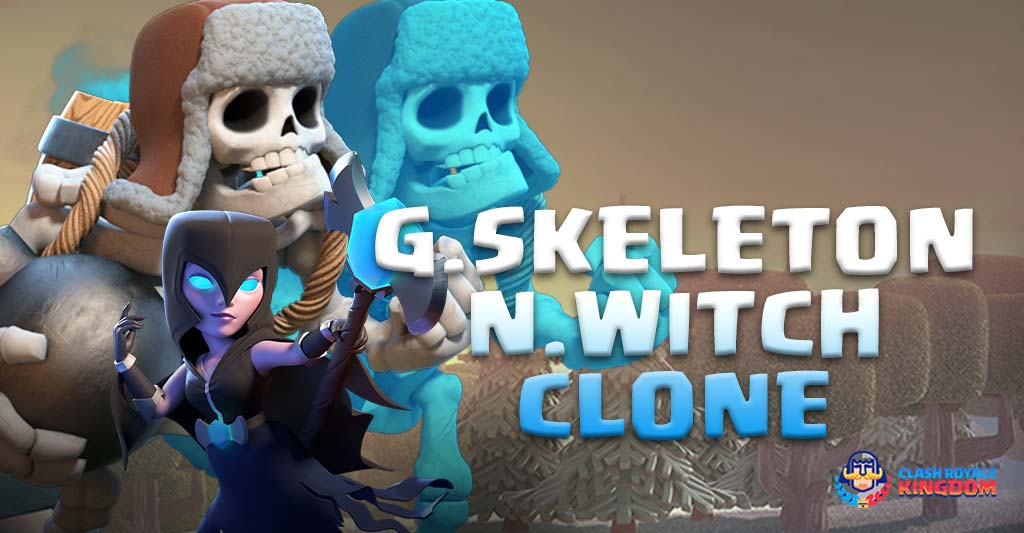 Giant Skeleton Night Witch Clone Deck