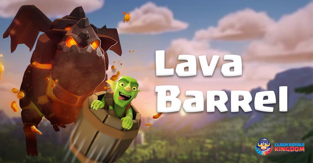 Lava Barrel Deck