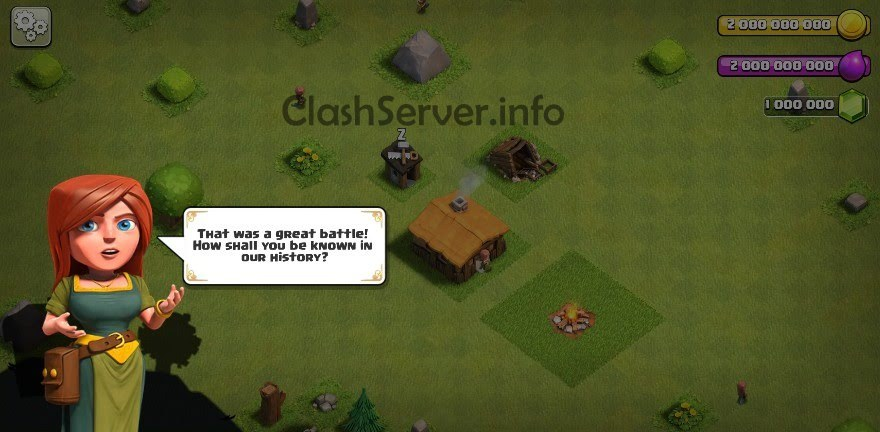 clash of clans gems server