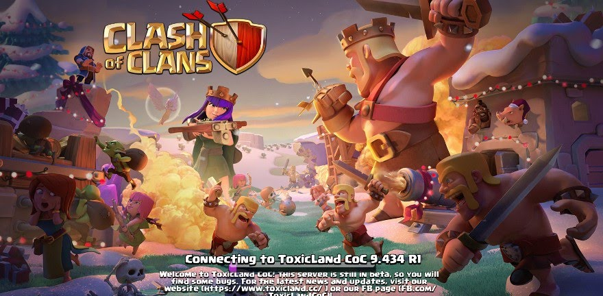 clash of clans modded server 2018