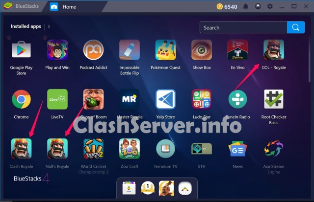 More than one Clash Royale Private Servers 2019 on PC