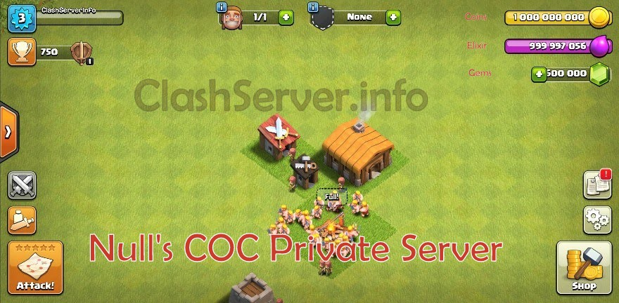 Null's Clash Apk TH12 | COC Private Server by Null 2019