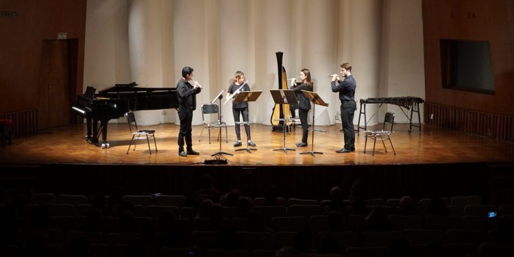 Cuarteto Natalia Martínez,Vanlentín Mansilla,Jonatan Mamani, Teresita Orgaz