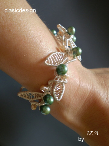 bijuterii cu pietre semipretioase-bratara  MY SECRET GARDEN