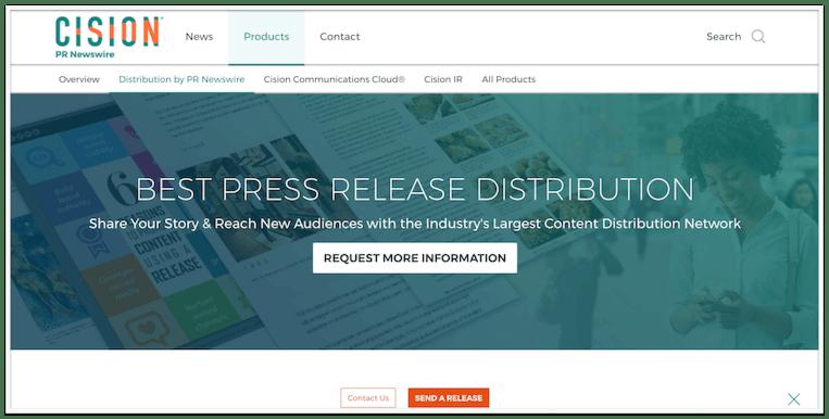 PR Newswire best press release service