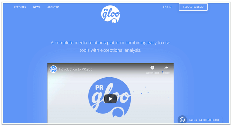 PRGloo pr company