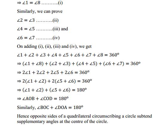 NCERT Solutions for Class 10 Maths Chapter 10 Circles Ex 10.2 12