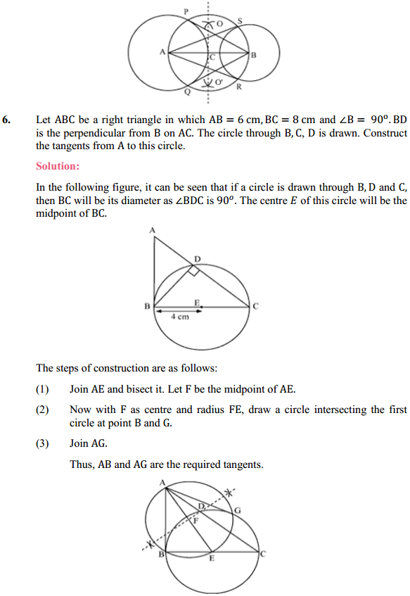 NCERT Solutions for Class 10 Maths Chapter 11 Constructions Ex 11.2 5