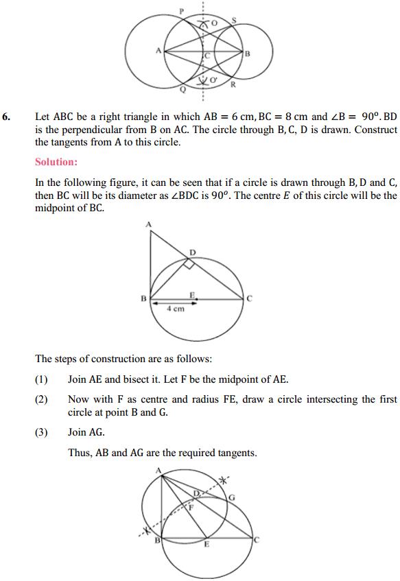 NCERT Solutions for Class 10 Maths Chapter 11 Constructions Ex 11.2 5