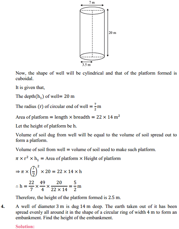 NCERT Solutions for Class 10 Maths Chapter 13 Surface Areas and Volumes Ex 13.3 3