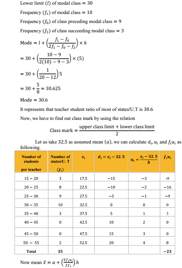 NCERT Solutions for Class 10 Maths Chapter 14 Statistics Ex 14.2 6