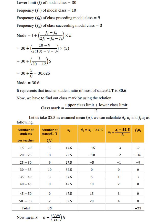 NCERT Solutions for Class 10 Maths Chapter 14 Statistics Ex 14.2 6
