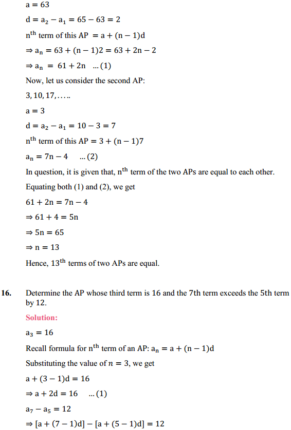 NCERT Solutions for Class 10 Maths Chapter 5 Arithmetic Progressions Ex 5.2 17
