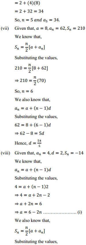 NCERT Solutions for Class 10 Maths Chapter 5 Arithmetic Progressions Ex 5.3 10