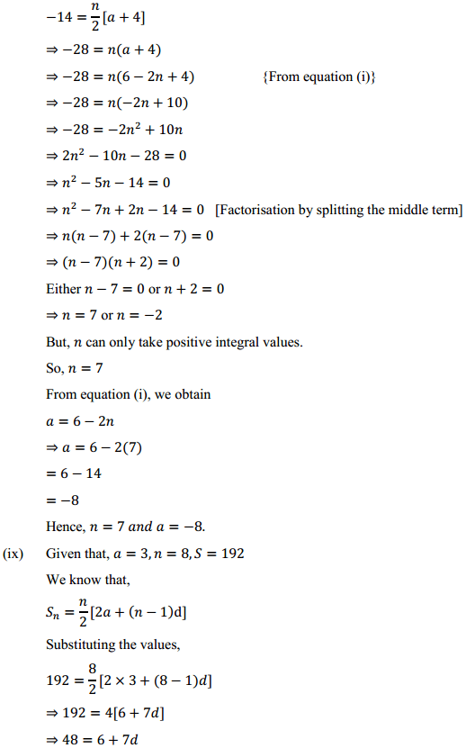 NCERT Solutions for Class 10 Maths Chapter 5 Arithmetic Progressions Ex 5.3 11