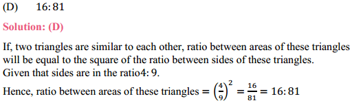 NCERT Solutions for Class 10 Maths Chapter 6 Triangles Ex 6.4 7