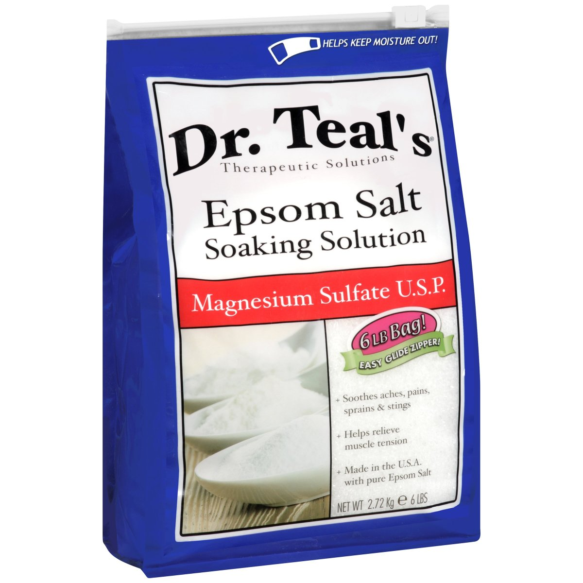 Dr. Teal's Epsom Salt Doesn't Relieve Muscle Soreness, Class Action Says