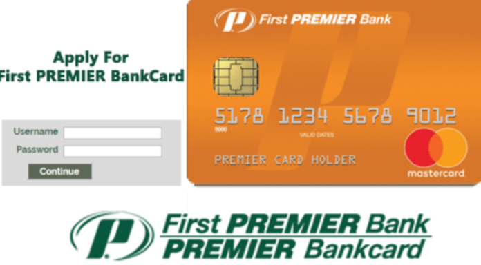 FirstPremierCard login