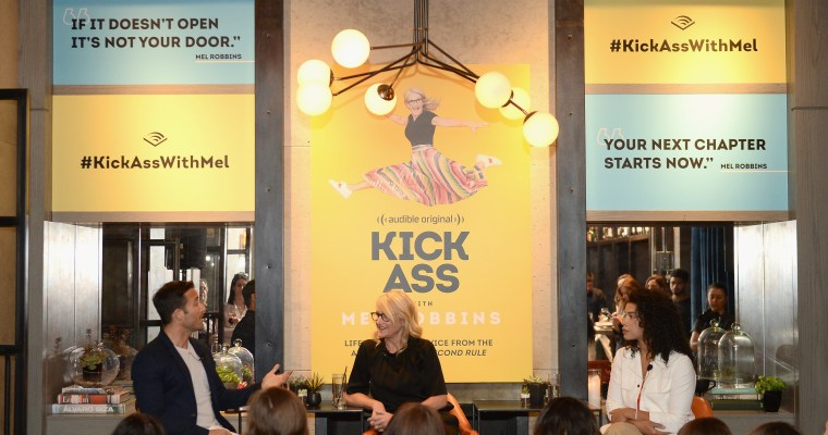 On The Guest List – Kick Ass With Mel Audible Launch Event