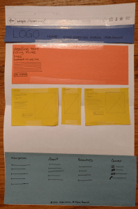 Construction Paper Prototype