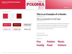 Style Tile: Taste of Polonia