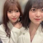 上村莉菜(左)と幸阪茉里乃