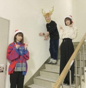 ゆうパラに出演した関有美子(左)と井上梨名