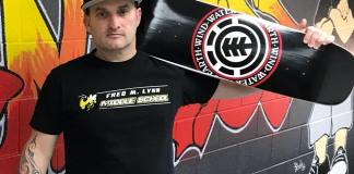 Hamish Brewer Skateboarding Principal Tatooed
