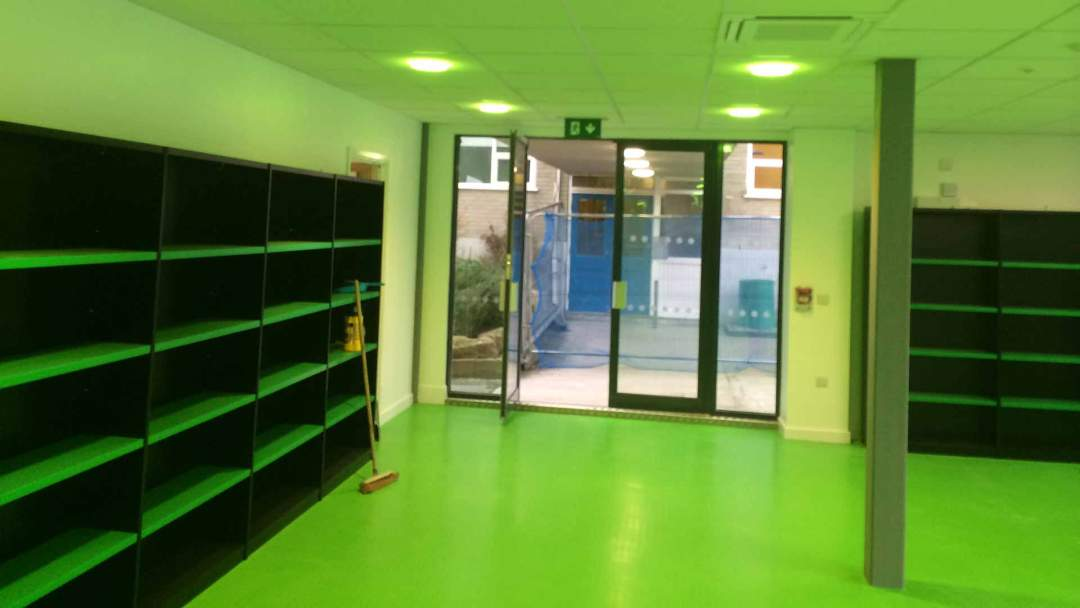 Coombe Dean School Library 4