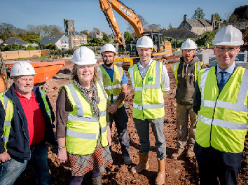 plymouth builder former downham school project start