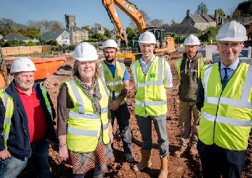 Project Start – Former Downham School – Plymstock