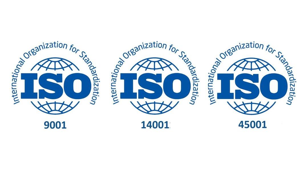 ISO Compliance logos