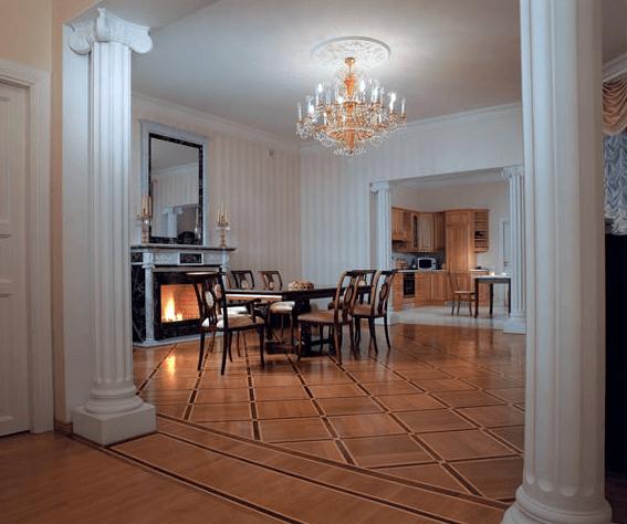 Classic Home в интерьере