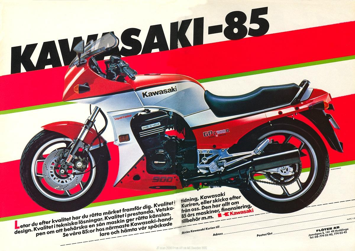 Kawasaki Sales Brochure