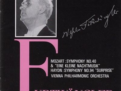 フルトヴェングラー指揮ウィーン・フィルのモーツァルト「アイネ・クライネ」(1948録音)ほかを聴いて思ふ