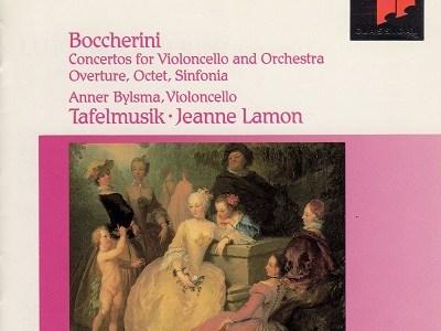 ビルスマのボッケリーニ チェロ協奏曲G.476ほか(1992.9録音)を聴いて思ふ