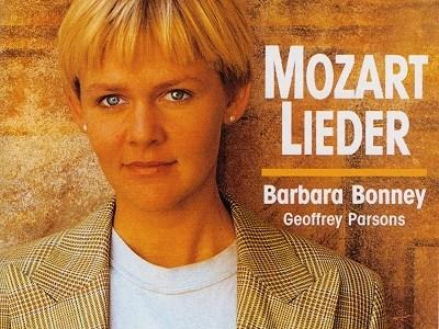 バーバラ・ボニーのモーツァルト「夢の像」K.530ほか(1990.8録音)を聴いて思ふ