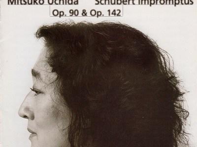 内田光子のシューベルト即興曲集作品90&142(1996.9録音)を聴いて思ふ