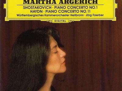 アルゲリッチ&フェルバーのショスタコーヴィチ協奏曲第1番ほか(1993.1録音)を聴いて思ふ