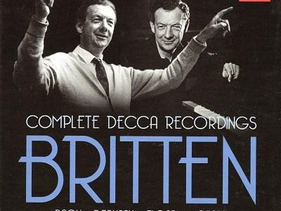 ピアーズ&ブリテン ヴォーン・ウィリアムズ「ウェンロック・エッジにて」(1945.7録音)ほかを聴いて思ふ