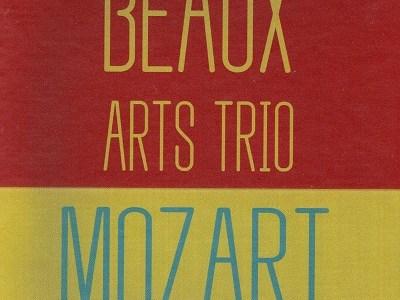 ボザール・トリオのモーツァルト三重奏曲K.542ほか(1967録音)を聴いて思ふ