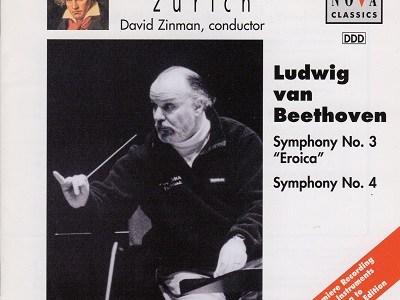ジンマン指揮チューリヒ・トーンハレ管のベートーヴェン「英雄」ほか(1998.5録音)を聴いて思ふ