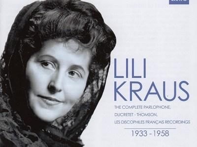リリー・クラウス ベートーヴェン「テンペスト」「ワルトシュタイン」ほか(1953&54録音)を聴いて思ふ