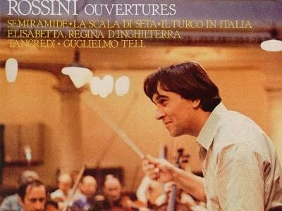 アバド指揮ロンドン響のロッシーニ序曲集(1972, 75 &78録音)を聴いて思ふ