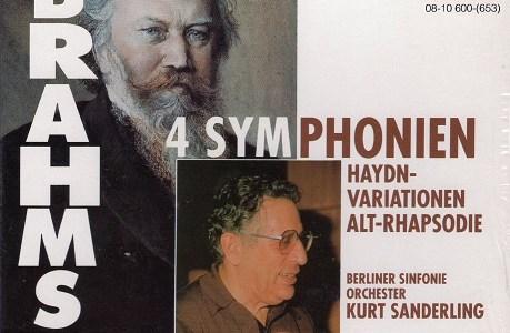 ザンデルリンク指揮ベルリン響 ブラームス第2番(1990録音)を聴いて思ふ