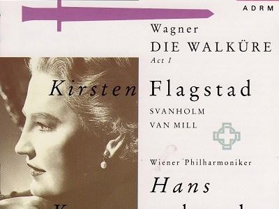 クナッパーツブッシュ指揮ウィーン・フィル ワーグナー「ワルキューレ」第1幕(1957.10録音)を聴いて思ふ