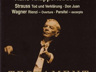 クナッパーツブッシュ指揮パリ音楽院管 R.シュトラウス「死と変容」(1956.5録音)ほかを聴いて思ふ